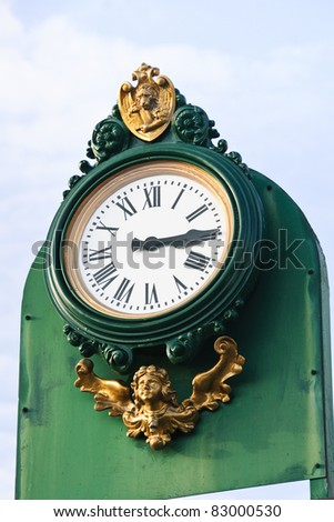 A beautiful clock in Murano Island, Venice