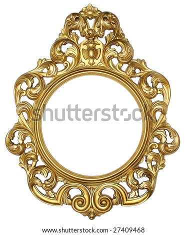 A beautiful frame - stock photo