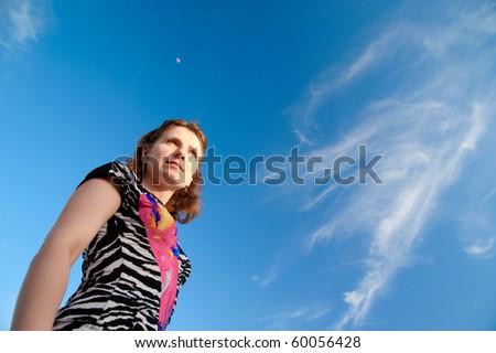 a beautiful girl - stock photo