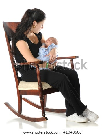Childs Rocking Chair Stock Photos, Royalty-Free Images & Vectors ...