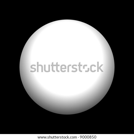 A beautiful pearl isolated over black. - stock photo