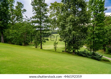 A beautiful View of Golf Course