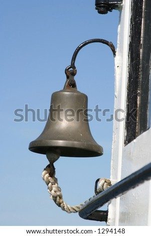 A bell on the ship