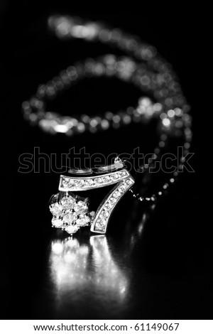 a beuatiful jewelry - stock photo