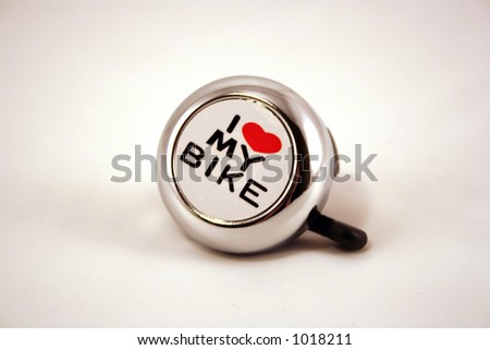 A bicycle bell - stock photo