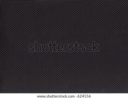 A black nylon fabric texture