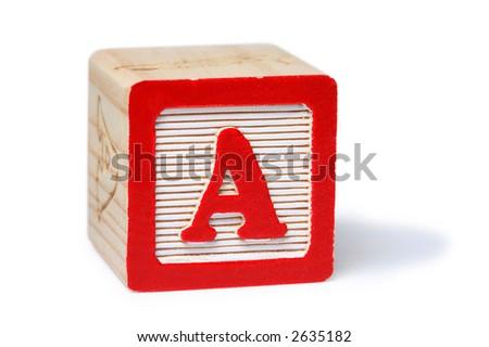 A Block - stock photo