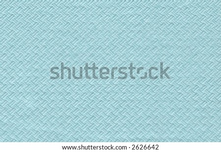 A blue paper napkin - stock photo