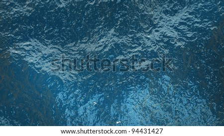 Blue Water Texture High Resolution 3 D Stock Illustration 94431427