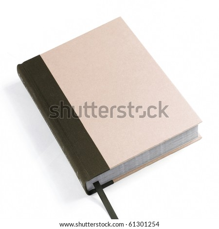 a book on white - stock photo