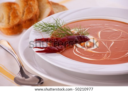 Lobster bisque pappadeaux recipe lobster house for Fish soup near me