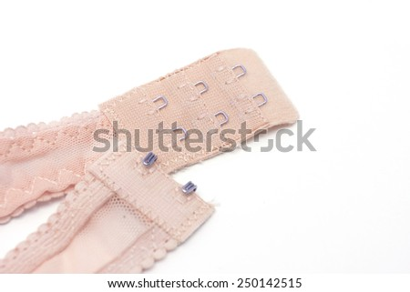 A bra isolated on a white background - stock photo