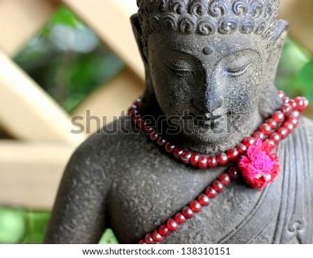 A Buddha in Bali - stock photo