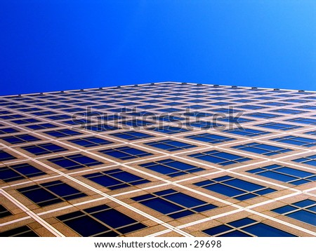 a building in Battery Park - stock photo