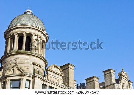 A building in Manchester, UK - stock photo