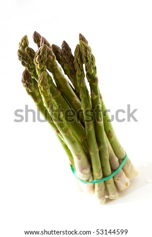 A Bunch of fresh ,green Asparagus