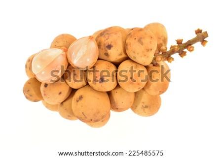 A Bunch Of Longkong Fruit  - stock photo