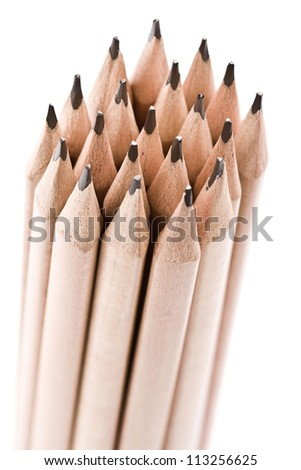 A bunch of pencil - stock photo