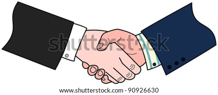 A business deal agreed - stock photo