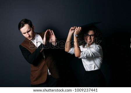 Business women domination