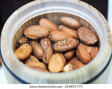 a can of Nuts - stock photo