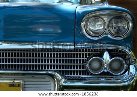 A 1956 Car - stock photo