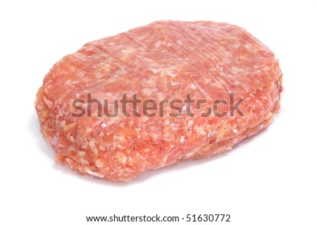 a chicken burger isolated on a white background