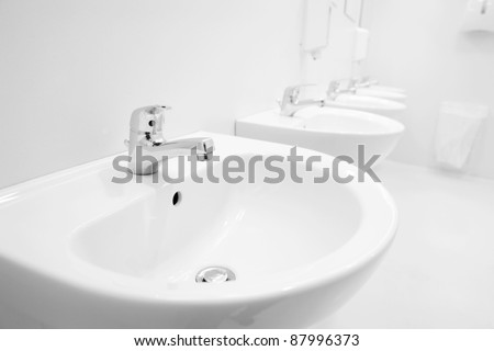 Public Bathroom Sink public bathroom sink stock images, royalty-free images & vectors