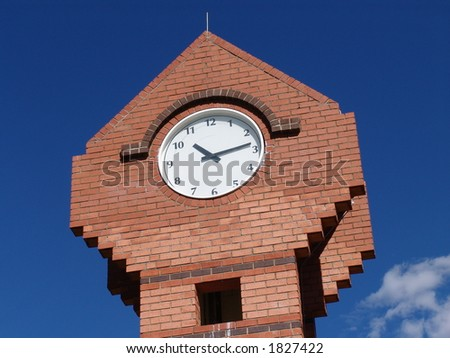 a clock - stock photo