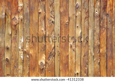 A close-up details of the wood wall - stock photo