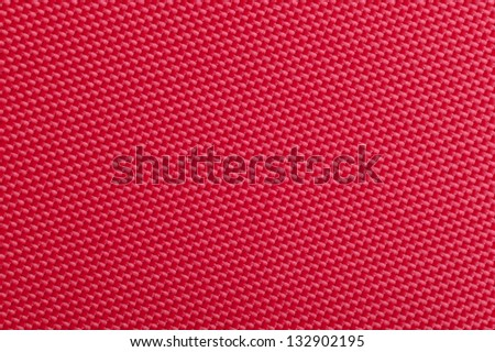 A close-up of red fabric texture - stock photo