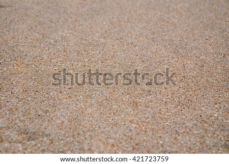 A close up of sand texture - stock photo