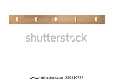 A close up shot of a picture hook - stock photo