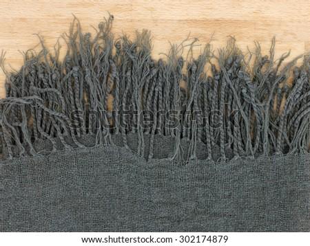 A close up shot of a throw rug - stock photo