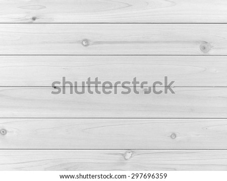 A close up shot of wood panelling - stock photo