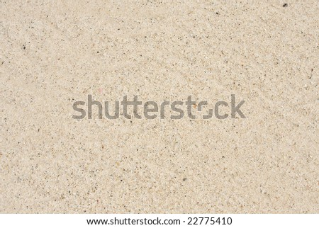 A closeup of sand to be used as a texture or backdrop - stock photo