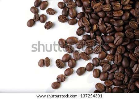 A coffee background