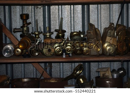 Collection Old Used Door Knobs Stock Photo 552440221 - Shutterstock