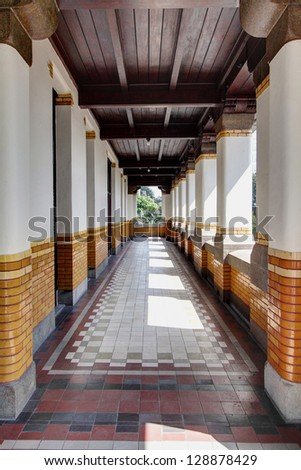 A Colonial Alley at Lawang Sewu