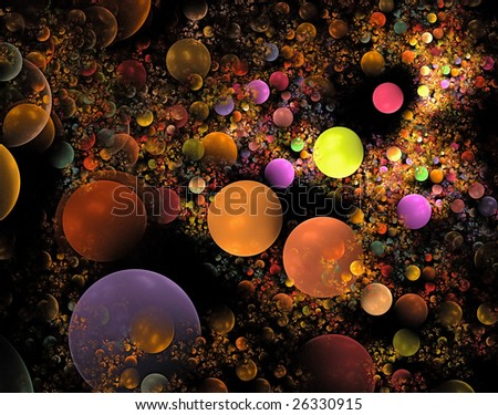a colored wallpaper fractal for web backgrounds over black