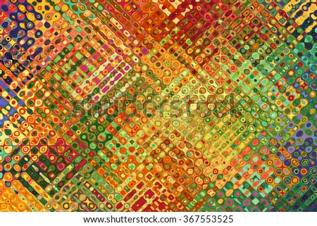 A Colorful Abstract Paint Textured Background - stock photo