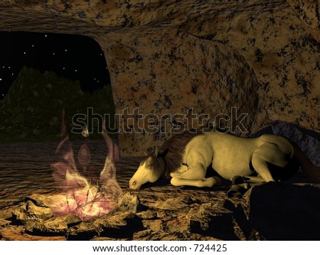 A Comfy Place - stock photo