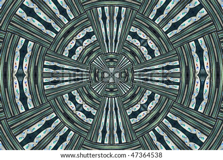 A computer generated background abstract in a TV test screen pattern. - stock photo