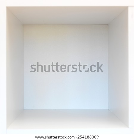 A conceptual image utilising a spall storage space - stock photo