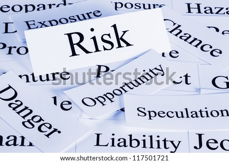 A conceptual look at risk, opportunity, danger, speculation, chance.