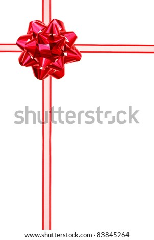 A conceptual ribbon package