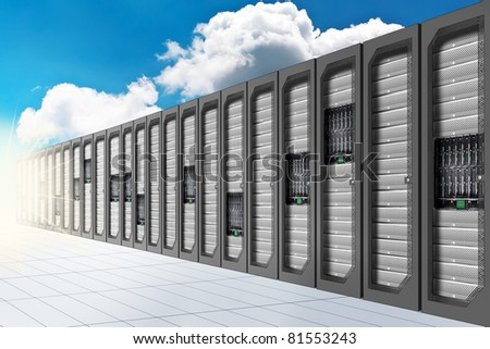 A Conceptual vision of a Datacenter on the cloud (Cloud Computing)