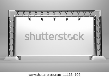 Concert Stage Clipart