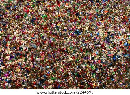 A confetti background. - stock photo