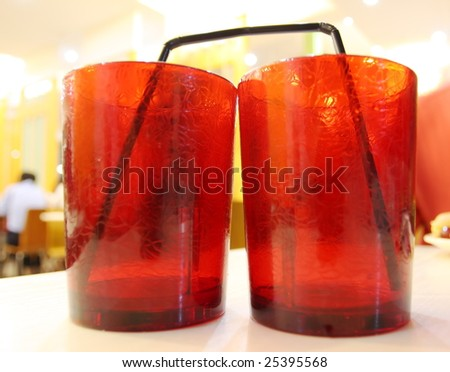 A couple of cups - stock photo